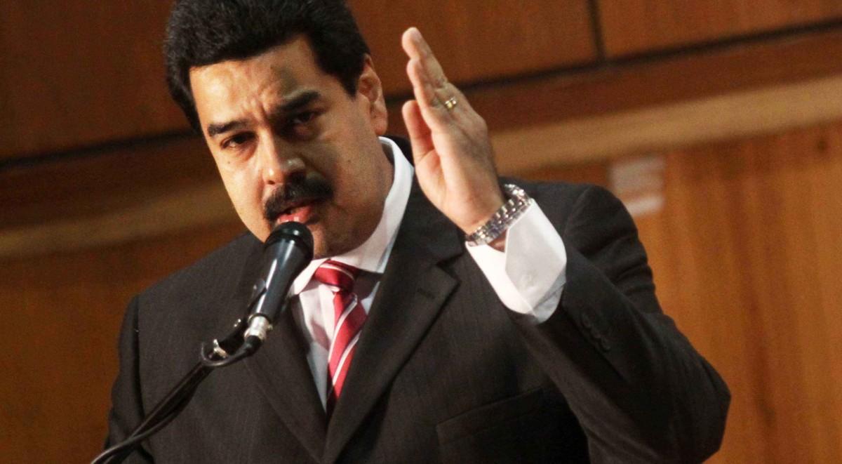 Recibe presidente venezolano a subsecretario de Estado de EUA