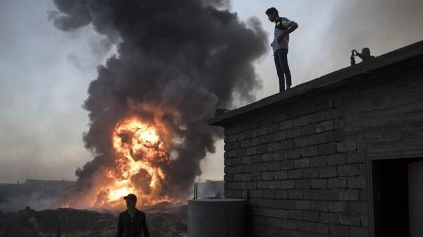 Fuerzas iraquíes avanzan al sur de Mosul, pero ralentizan su ofensiva dentro