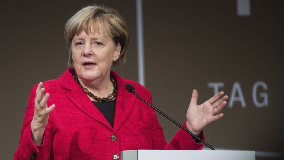 Merkel recibe en Berlín a Obama, May, Hollande, Renzi y Rajoy