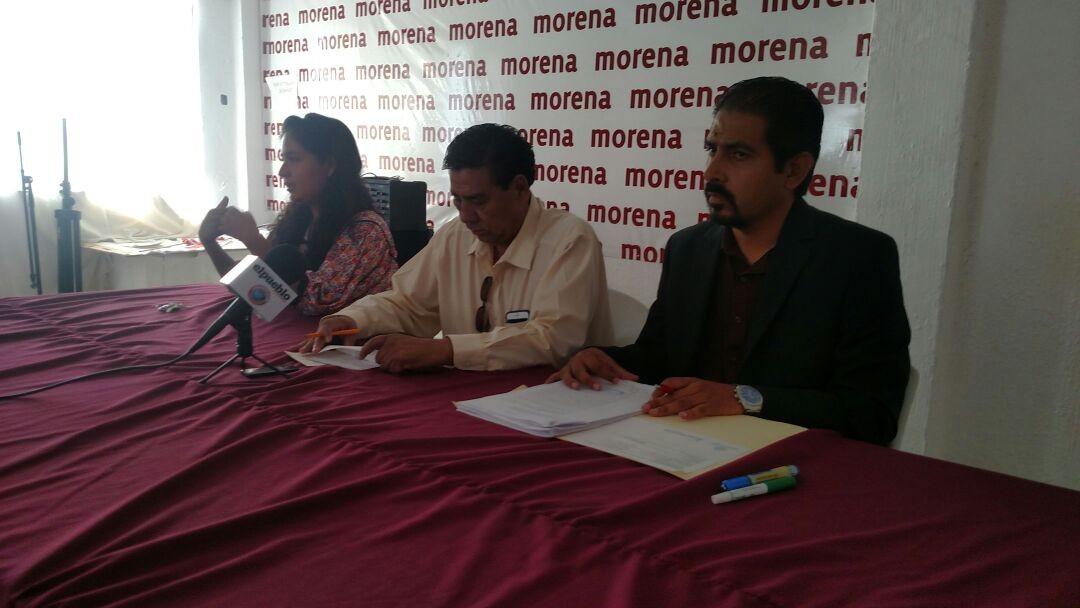 Corral desatiende su cargo por aspiraciones personales: Morena