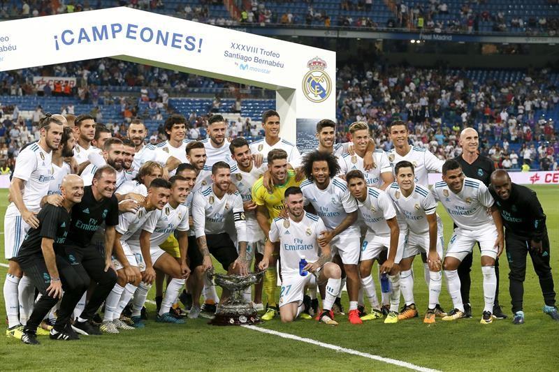 La última vez que Real Madrid perdió el Trofeo Santiago Bernabéu