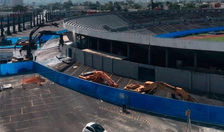 Comenzó la demolición del Estadio Tecnológico