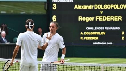 Último argentino eliminado del torneo de Wimbledon