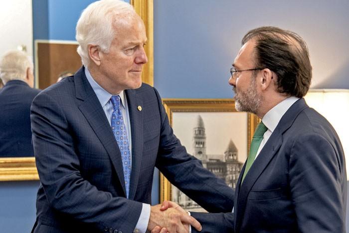 Videgaray se reunirá con líderes del Congreso de EU