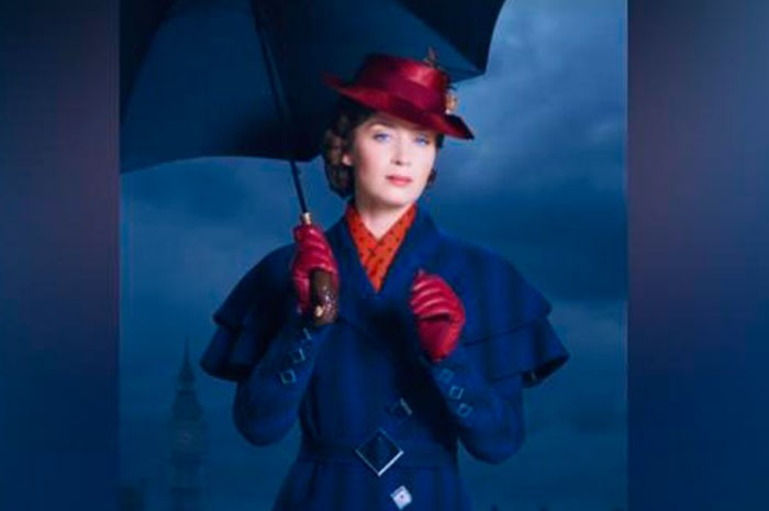#Video Así luce Emily Blunt como Mary Poppins