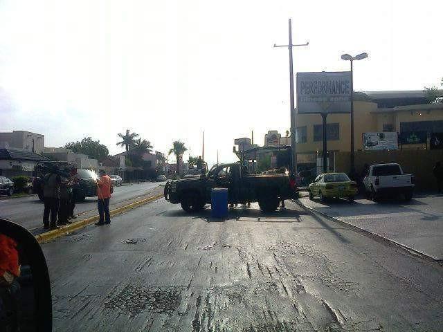 Reportan agresión a militares en Reynosa