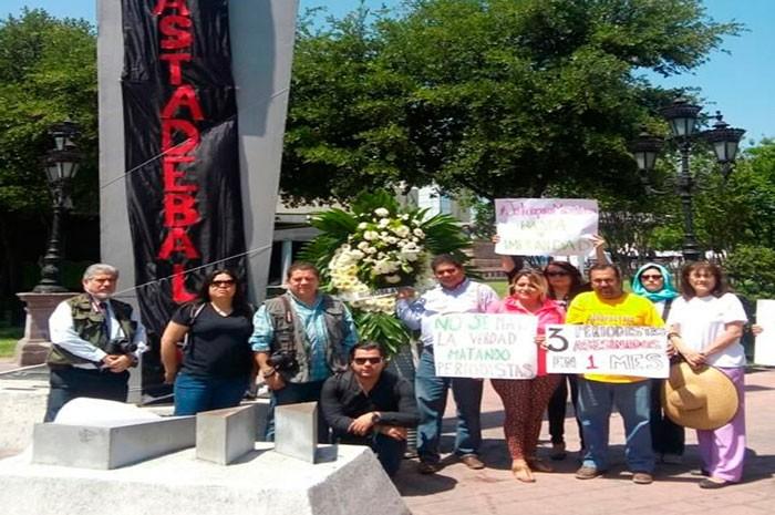 Protestan en 5 estados por asesinato de Miroslava Breach