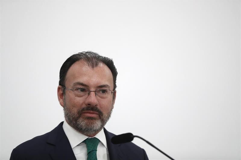 Videgaray inicia gira de trabajo en Dallas y Washington