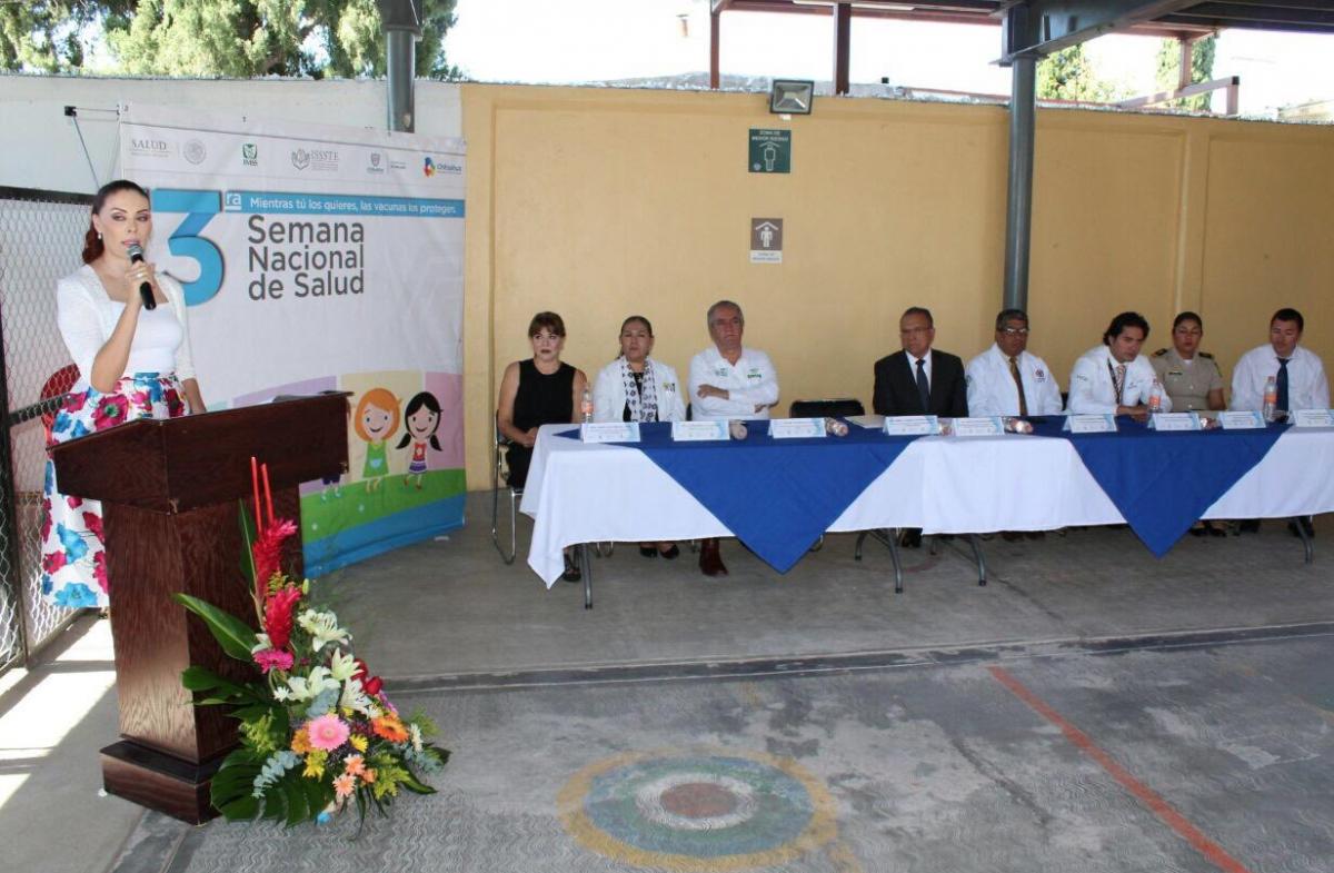 Guadalupe se suma a trabajos de la Tercera Semana de Salud
