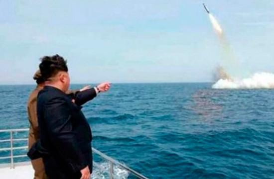 Kim Jong-Un supervisó bomba H para misil norcoreano