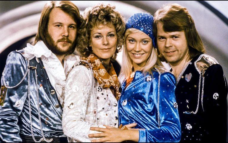 El legendario grupo sueco ABBA se reúne para grabar dos nuevas canciones