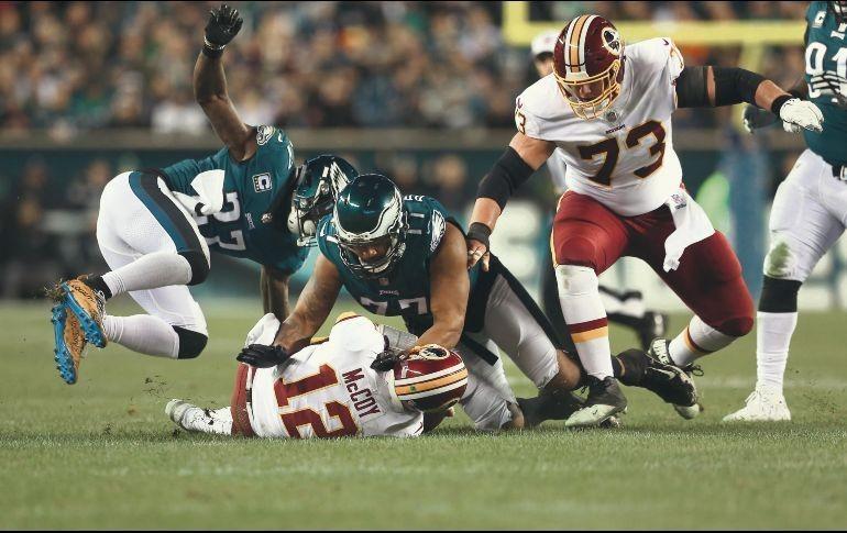 Eagles vuelan alto, vencen a Redskins