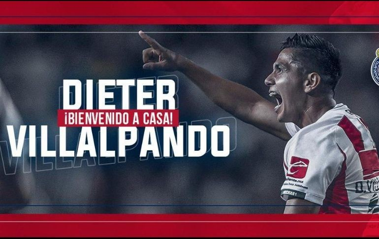 Dieter Villalpando, oficialmente nuevo jugador del Guadalajara — CHIVAS