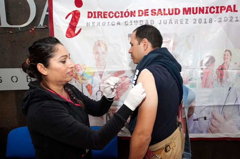 Continúa Módulo De Vacunación Contra Influenza En Protección