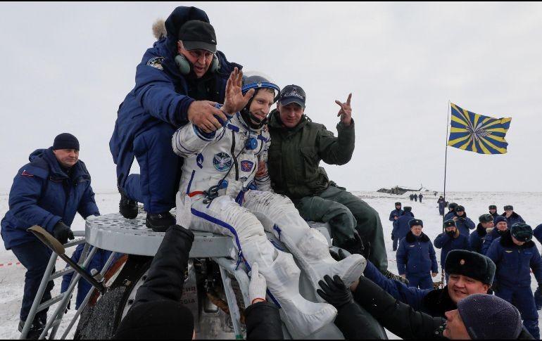 Alexander Gerst entrega el mando de la ISS a Kononenko