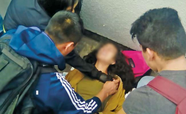 Joven mujer recibe balazo en Metro Cuatro Caminos