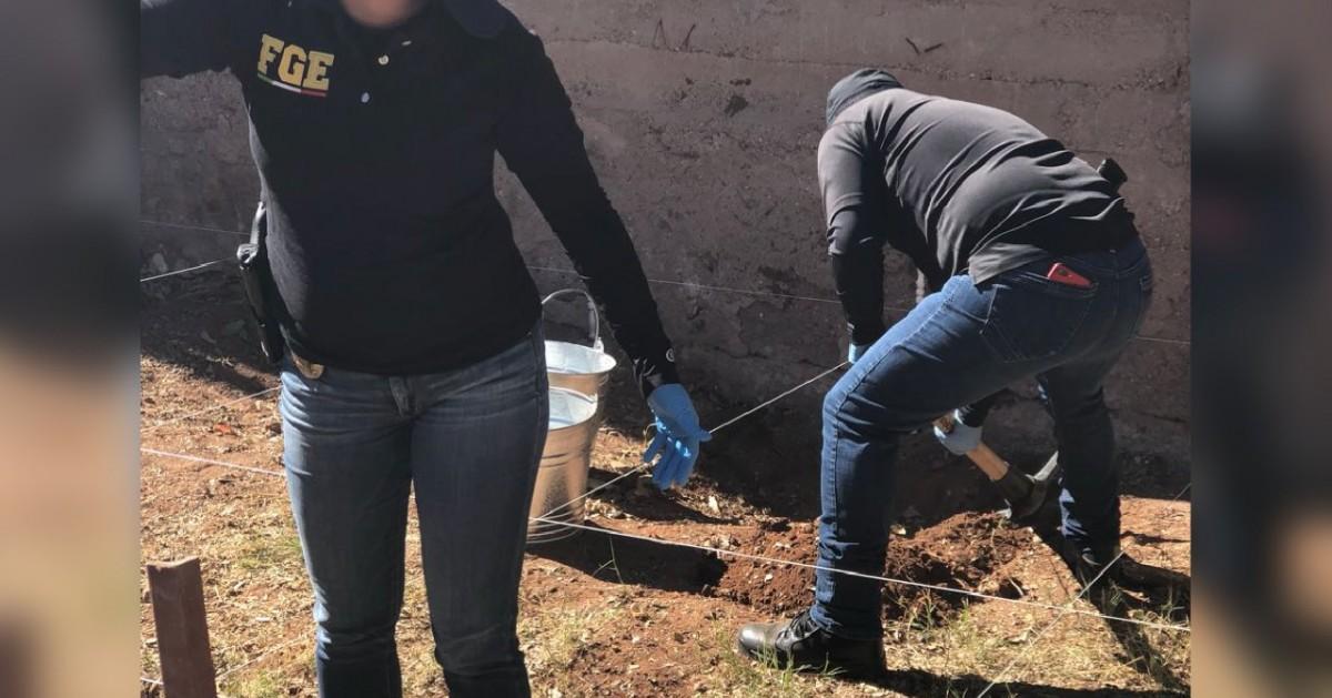 Investiga FGE inhumación clandestina de cuerpos en diversos domicilios de la ciudad