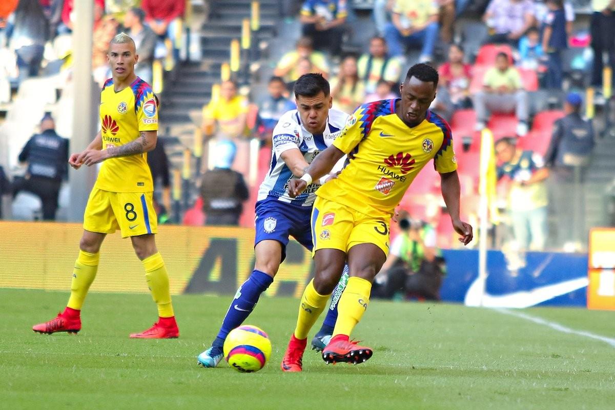 Pachuca logra empate 2-2 con el América