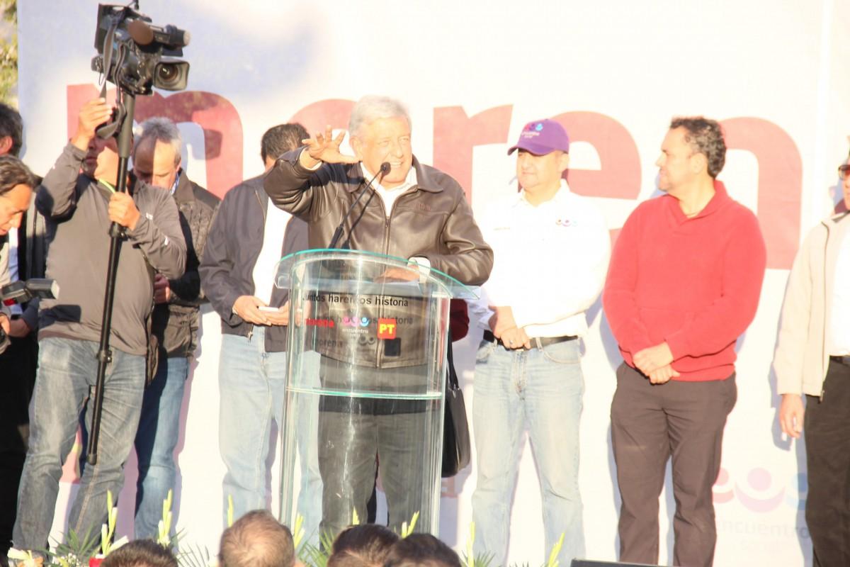 Ricardo Anaya toma protesta como candidato del PRD a la Presidencia
