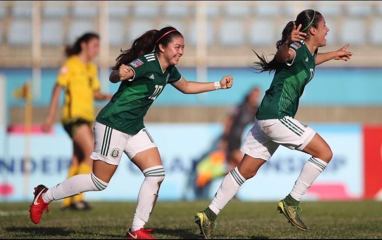 Supera a Nicaragua 2-0 en Premundial Sub20 femenino