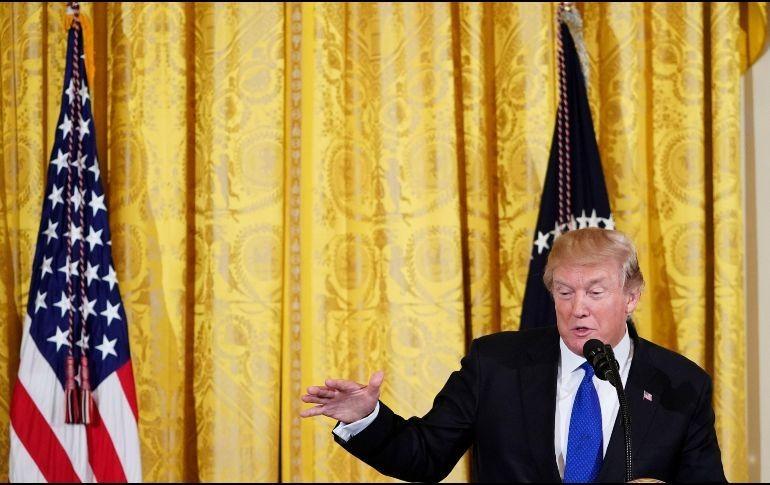 Trump rechaza propuesta migratoria bipartidista a cambio de dinero para el muro