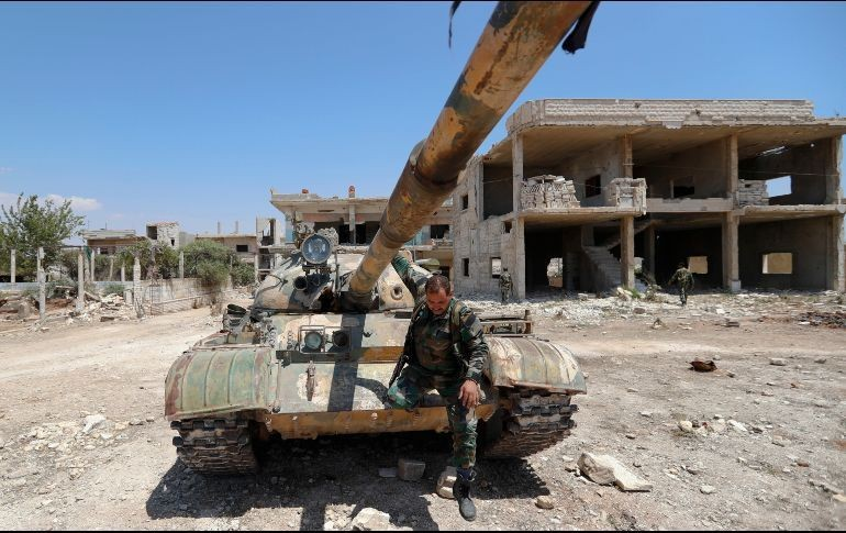 Los rebeldes sirios empiezan a evacuar la zona fronteriza con el Golán