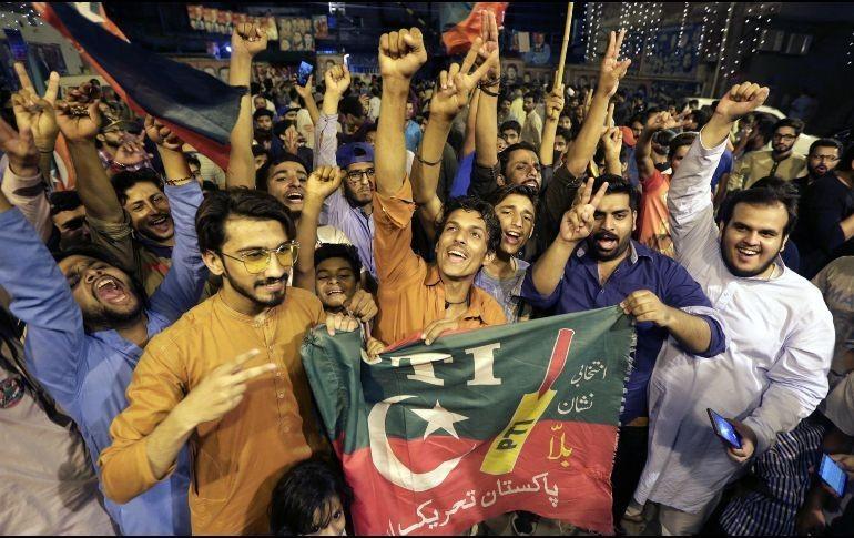 Imran Khan, ganador virtual de comicios de Pakistán, según datos preliminares