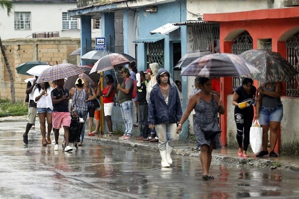 Aumentan a siete los fallecidos por las lluvias en Cuba