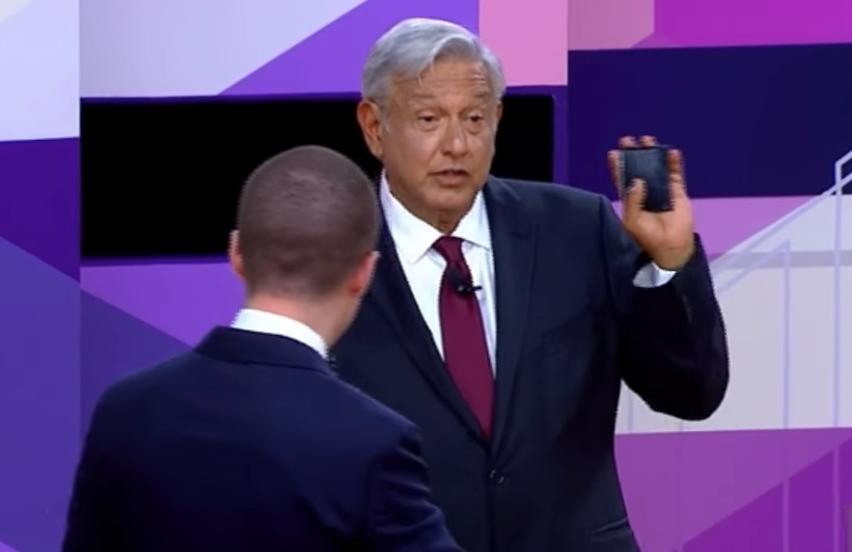 Llega AMLO a la ciudad de Mérida — Tercer debate presidencial
