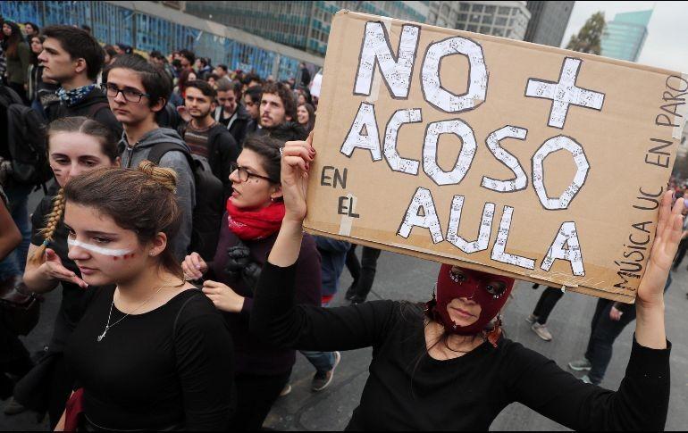 Marchan por una educación no sexista en Chile