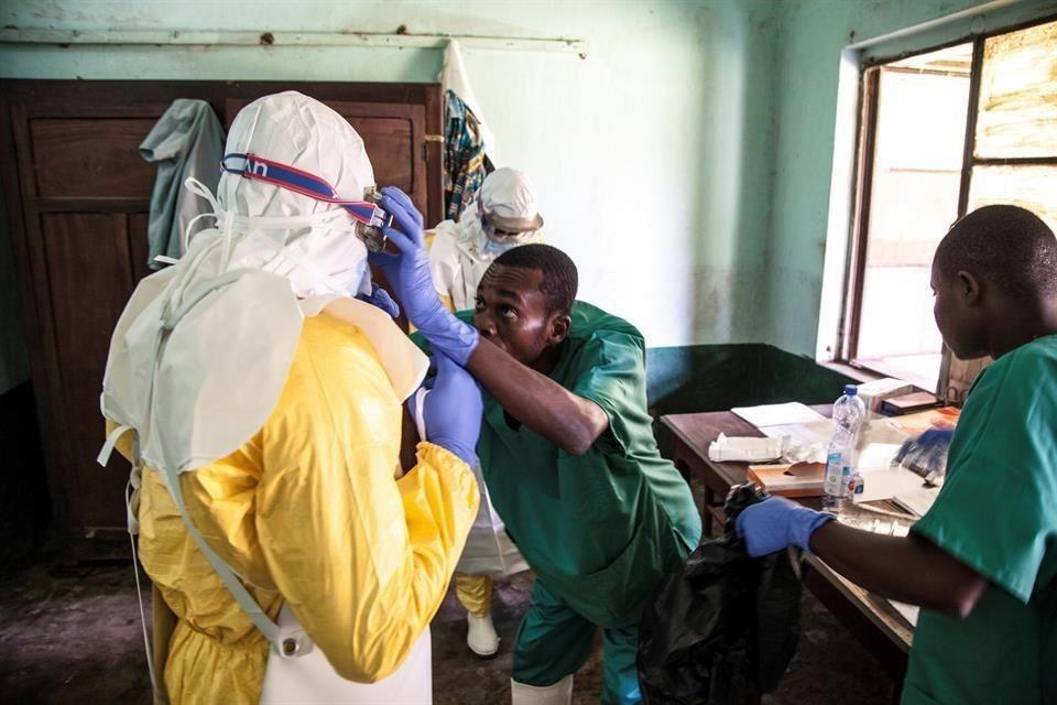 Autoriza Congo vacuna experimental contra ébola