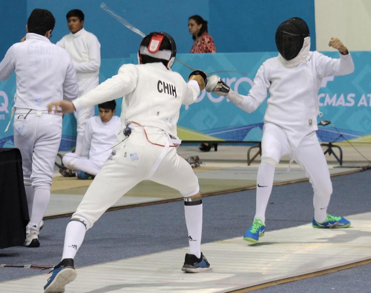 Chihuahua comenzó participación en la esgrima de Olimpiada Nacional ...