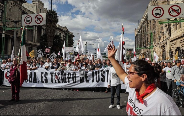 Conmemoraron estudiantes de la UPN matanza de Tlatelolco
