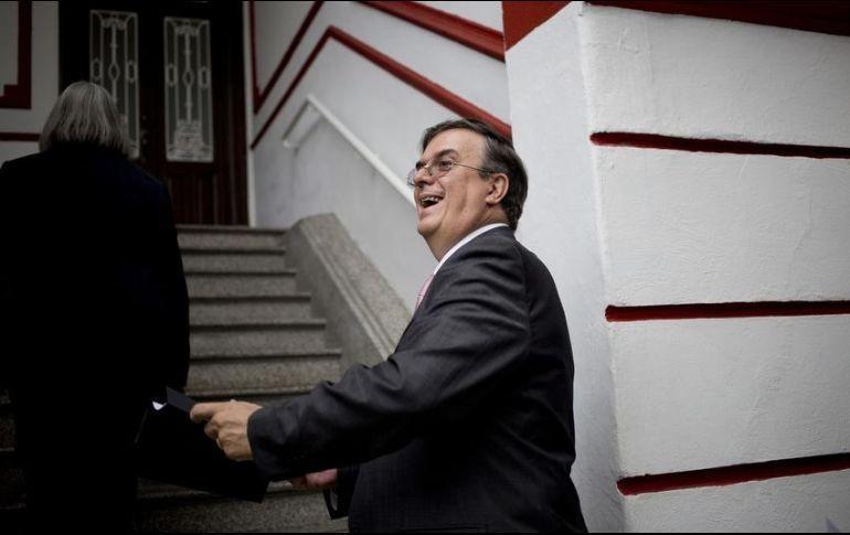 Marcelo Ebrard difunde lista de confirmados para toma de protesta de AMLO