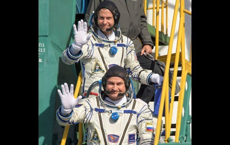 """Soyuz aterriza tras fallar el cohete, los astronautas están vivos"""""""