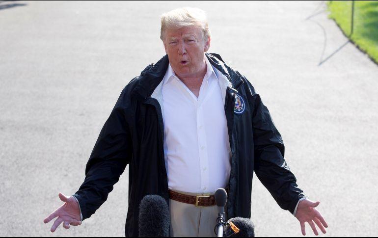 Trump defiende a juez acusado de abuso sexual