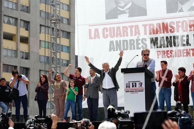 AMLO en Tlatelolco: nunca usaré al Ejército para reprimir