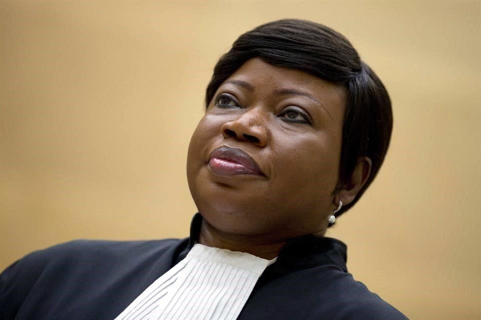 EEUU revoca visa de la fiscal general de la Corte Penal Internacional