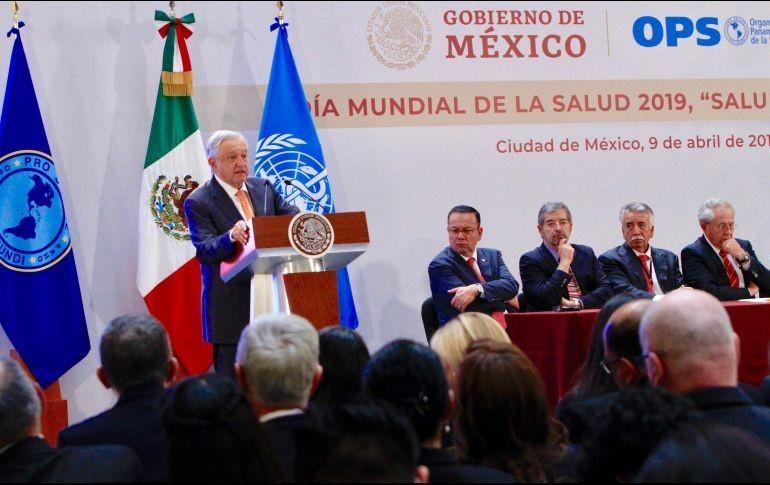 Habrá atención médica para todos los mexicanos: López Obrador