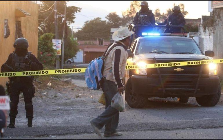 Resultado de imagen para ataque armado en tierra blanca, un policia muerto y cuatro sicarios abatidos