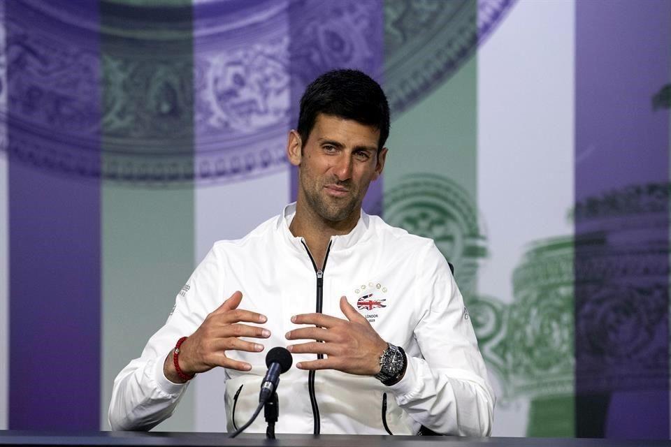 Novak Djokovic canta la 'vaca lola' tras ganar Wimbledon