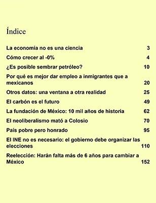 Se filtra índice del nuevo libro de AMLO sobre economía moral