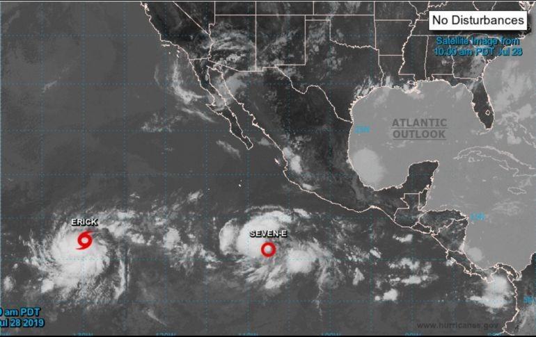 Se forma la tormenta tropical 'Flossie' en colima — Clima