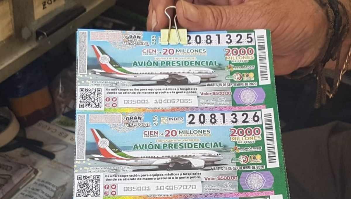 Venderán en Cámara de Diputados boletos de rifa de avión faltantes