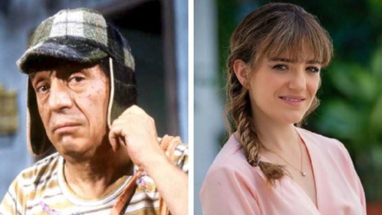 La nieta de 'Chespirito', María Penella se estrena en la TV mexicana